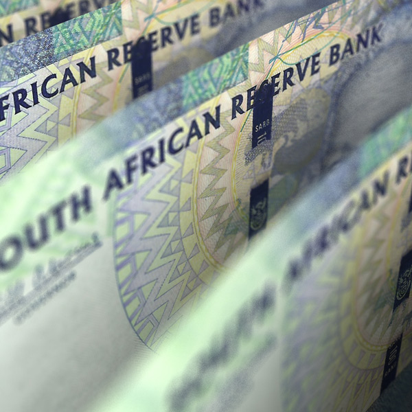 South African Rand exchange rates