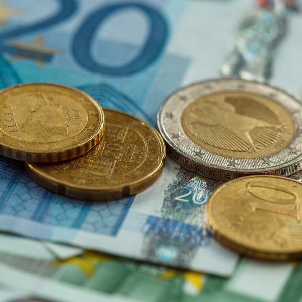 The Euro could be impacted by slowing EU growth
