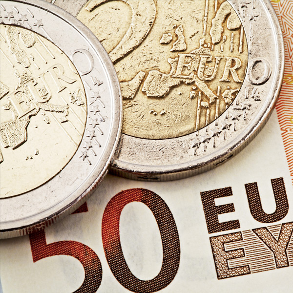 Sterling Euro at 9 month high