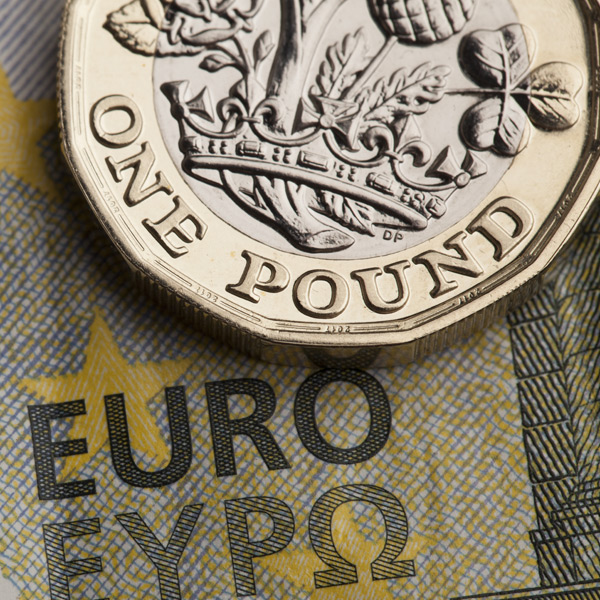 The GBP/EUR exchange rate fell as low as 1.1234