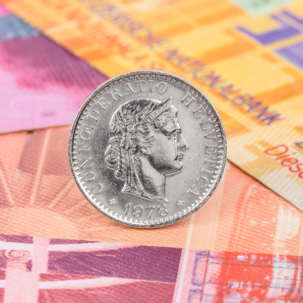 Swiss francs at cheapest point since Brexit
