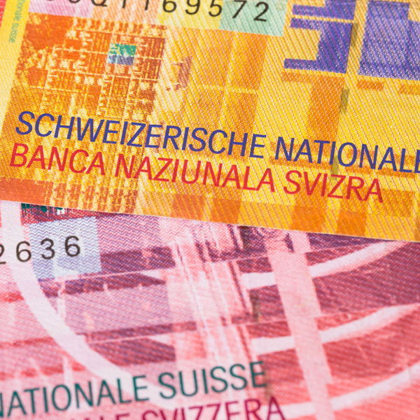 SNB policy finally shows results with CHF weakness
