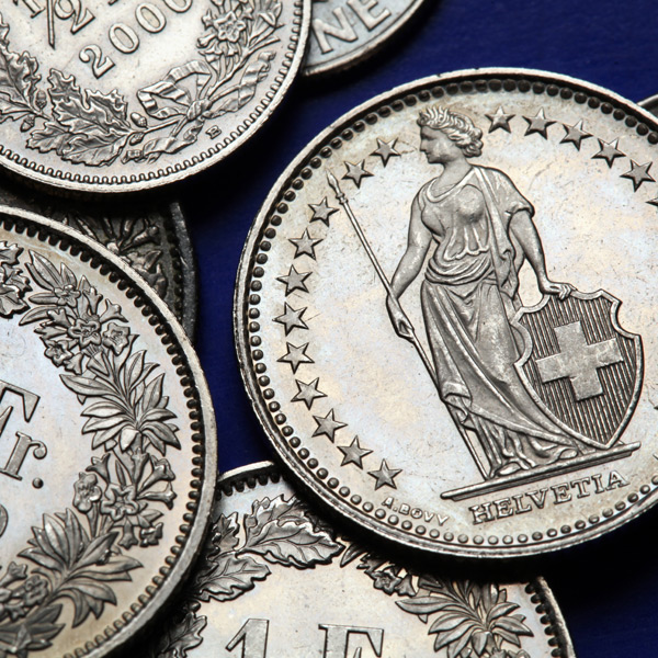 Why has Sterling Swiss Franc climbed this week?