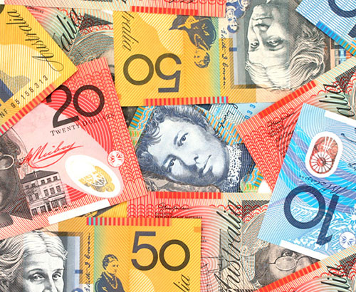 Data and Events that could affect the AUD
