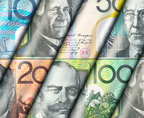 Weak economic data from China continues to weigh on the Aussie Dollar