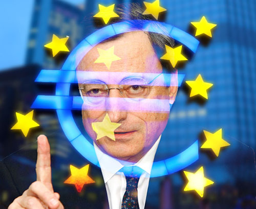 Concerns from ECB President Mario Draghi