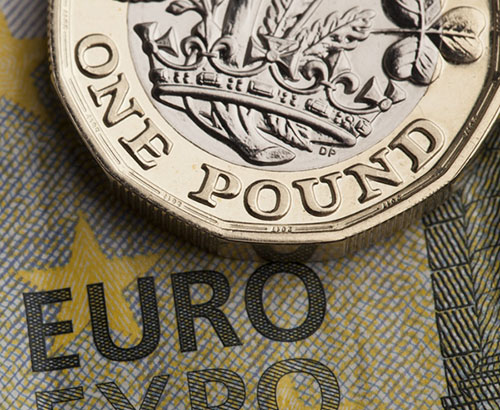 Sterling Slides Against the Euro