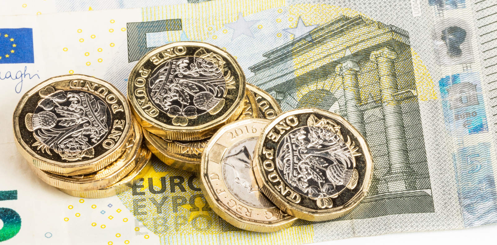 GBP/EUR exchange rate hits 5 month high
