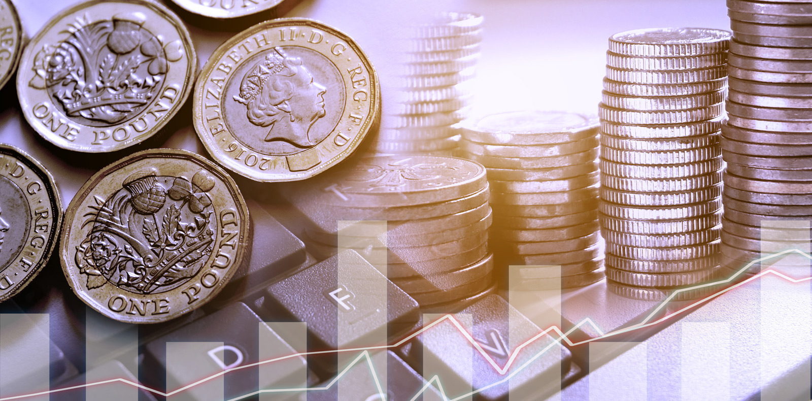 Sterling lost value against the euro and US dollar at the start of the week despite signs of UK economic recovery.