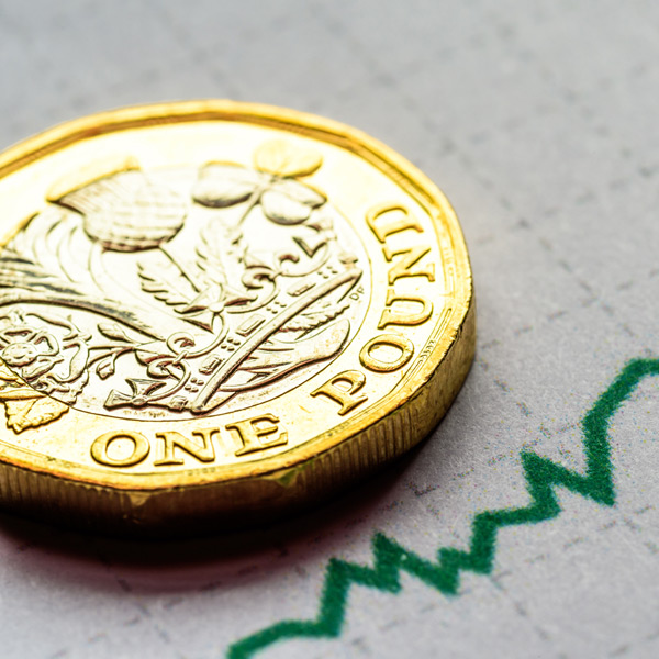 Why has the pound's value increased of late, despite the on-going market concerns surrounding Brexit?