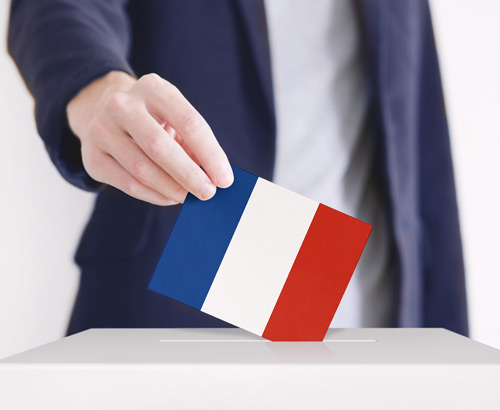 How will the French elections affect Euro exchange rates?