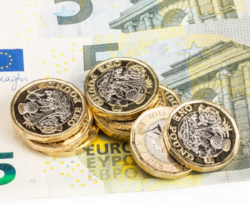 Sterling Recovers Last Week's Losses Against the Euro