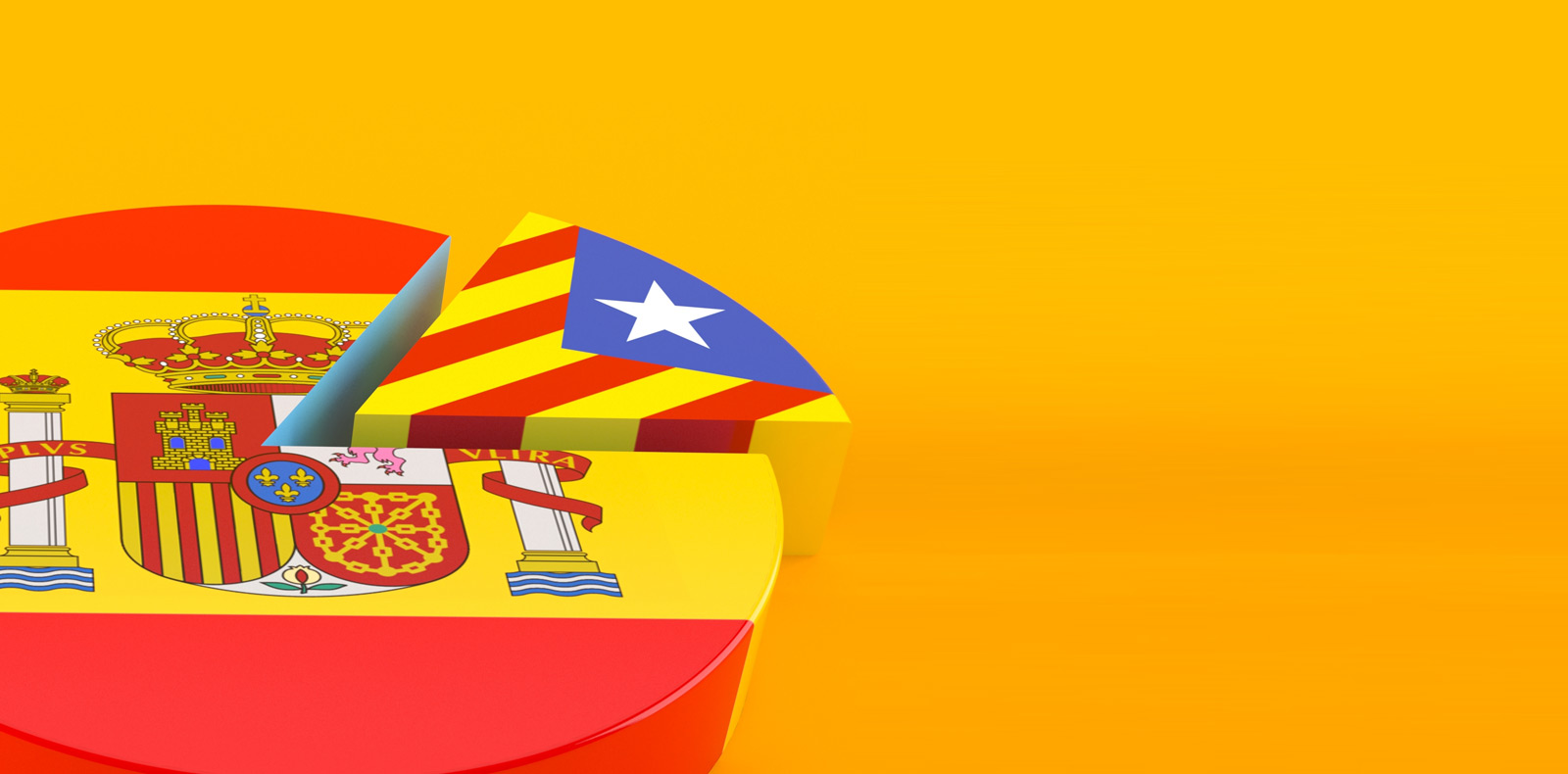 Euro eakness caused by the pledge for Catalonian independence