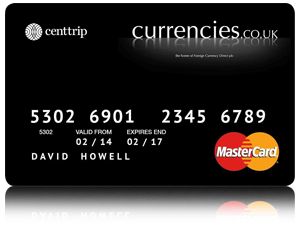 currencies.co.uk Currency Card